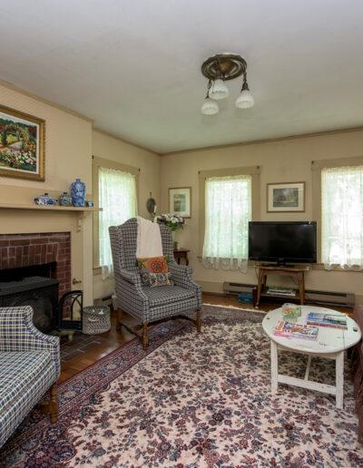 living room area of Harrisville Inn