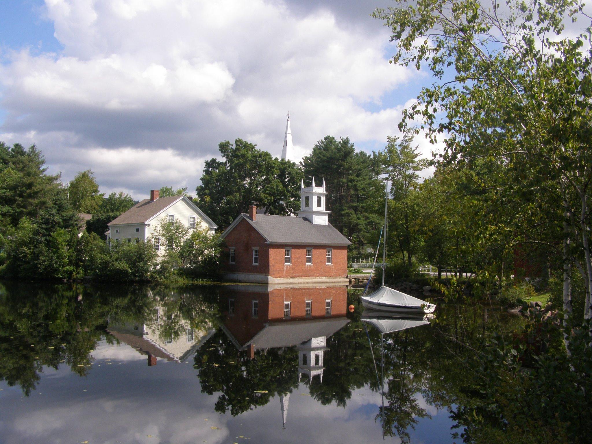 Town of Harrisville pond