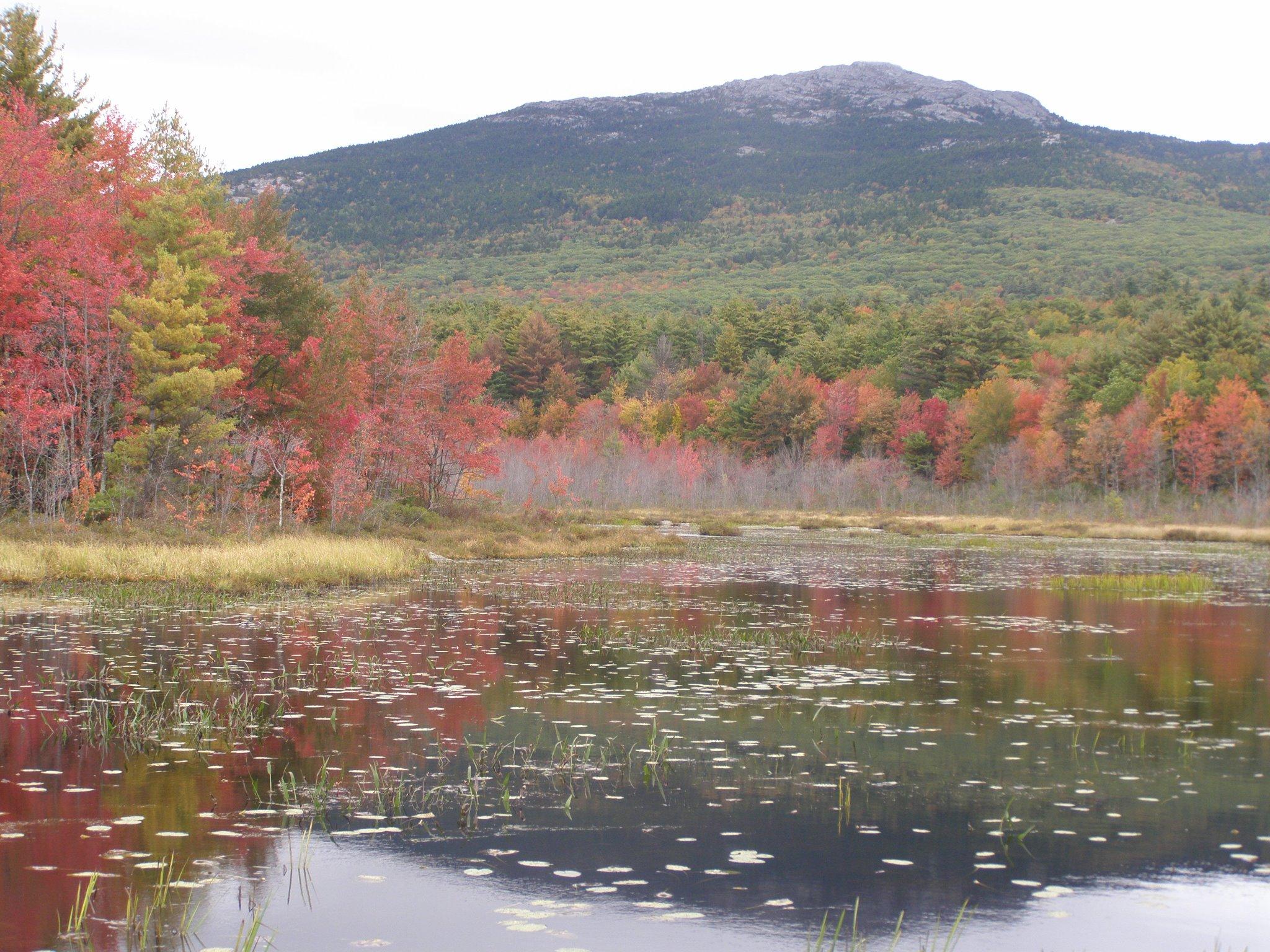 Monadnock Mountain in autumn