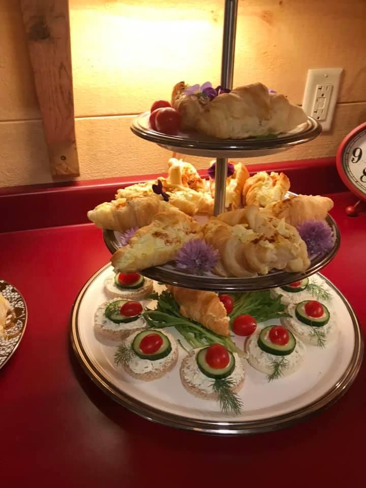 Old fashioned tea set